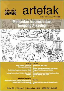 Majalah Artefak Edisi 30 Tema: Memantau Indonesia dari Teropong Arkeologi